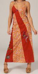 Robe longue droite d'été Ethnique et Originale Zazou 279385