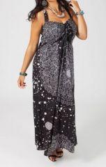 Robe longue en grande taille Luna 268685