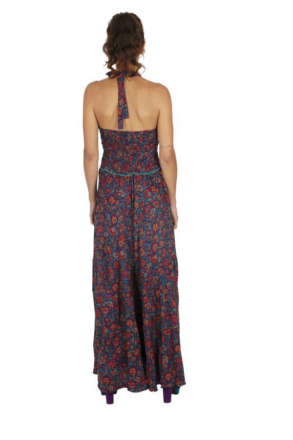 Robe longue été pour femme originale et fleurie Cosmia 316778