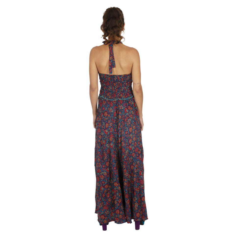 Robe longue été pour femme originale et fleurie Cosmia 316781