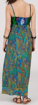 Robe longue ethnique et originale - mosaique - Liliana 271901