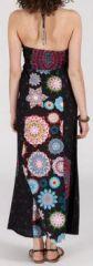 Robe longue ethnique et originale - noire - Doralice 271891