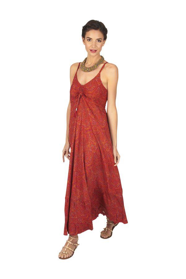 Robe longue femme été fluide et pas chère bohème Angie 316861