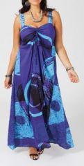Robe longue grande taille originale Rosana 268038