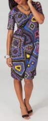 Robe mi-longue style ethnique tendance Margaux 6 271729