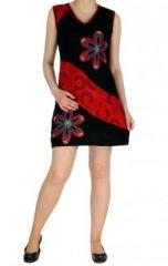 Robe mode ethnique noire Marina 268822