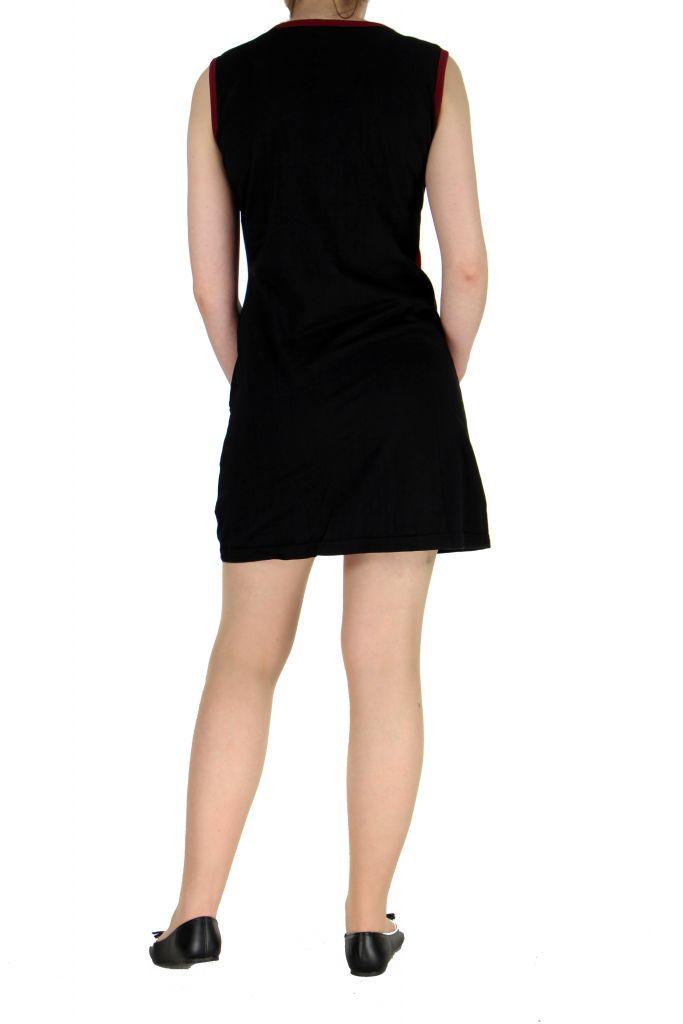 Robe mode ethnique noire Marina 268823