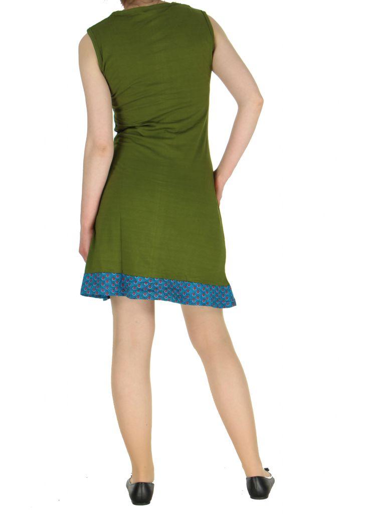 Robe Népalaise kaki Cécili 268357