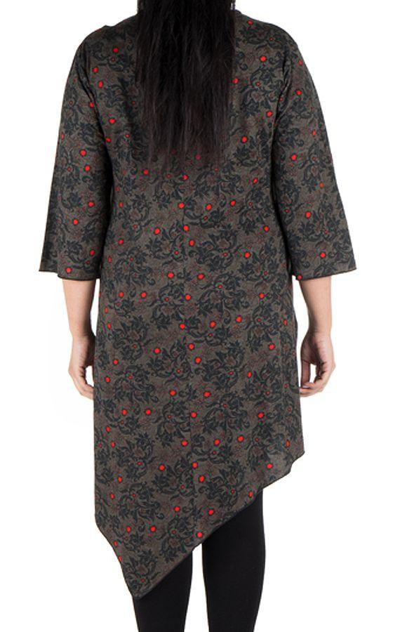 Robe Original asymétique pour la rentrée Sophie 300676