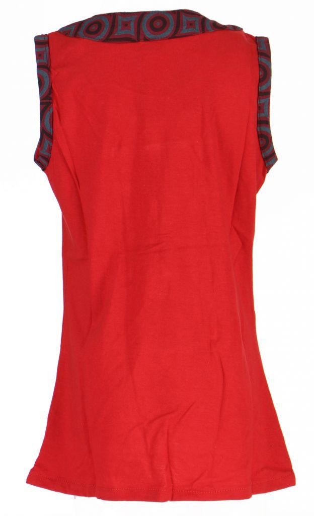 Robe originale bébé et fille rouge Froufrou 270964