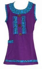 Robe originale bébé et fille violette Froufrou 270967