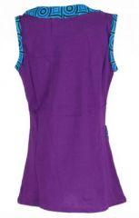 Robe originale bébé et fille violette Froufrou 270968