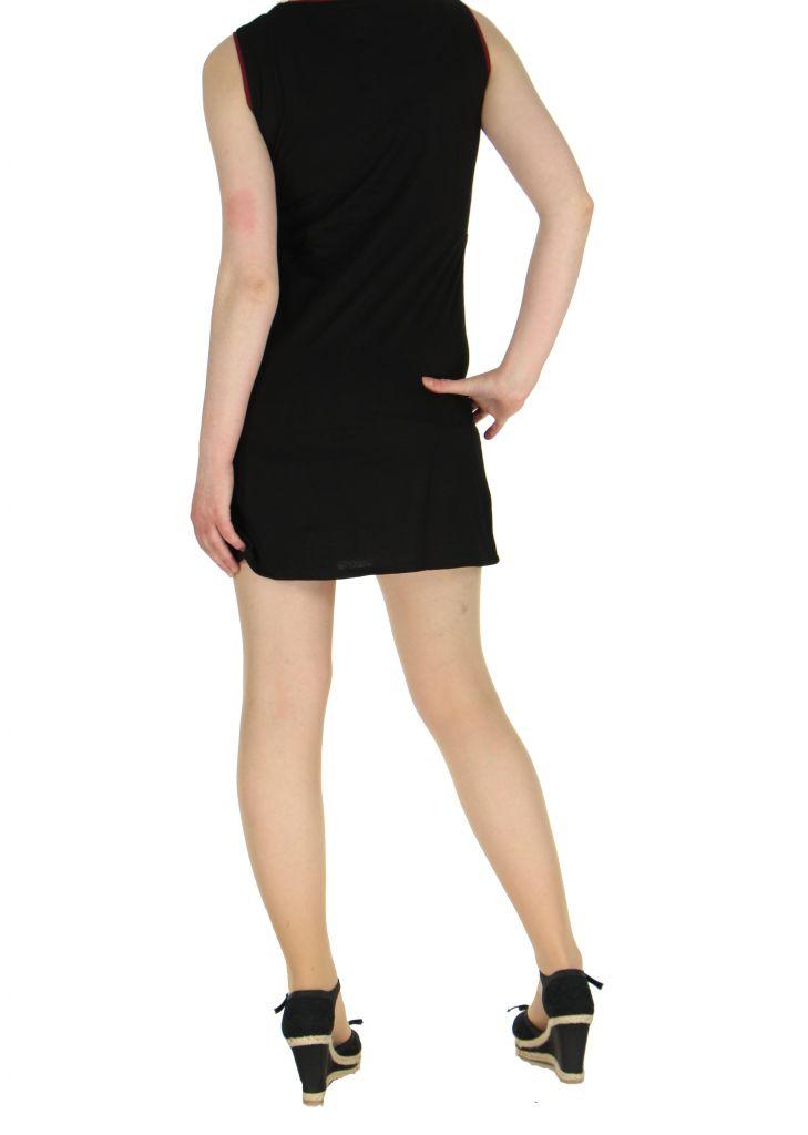Robe originale courte noire Tania 268362