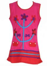 Robe originale pour enfant rose Fabiola 269550