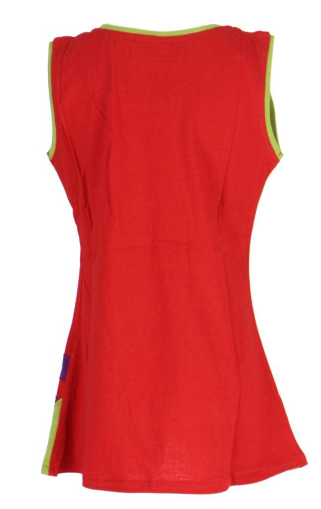 Robe originale pour enfant rouge Pioupiou 270912