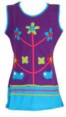 Robe originale pour enfant violette Fabiola 269563