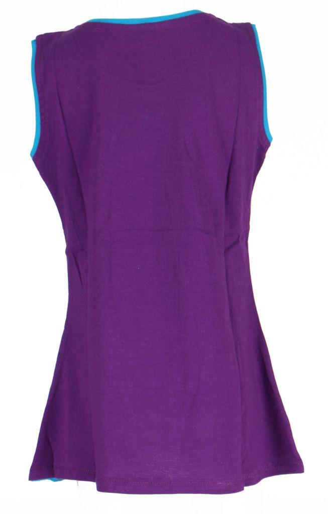 Robe originale pour enfant violette Pioupiou 270916