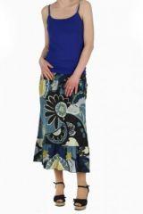 Robe ou jupe 2en1 imprimée maya 257579