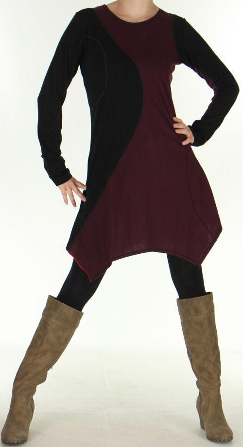Robe ou Tunique d'hiver Ethnique et Originale Selinda 276063