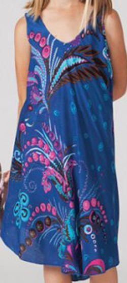 Robe pour Enfant Originale et Colorée Galanou Bleue 277378