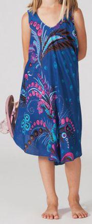 Robe pour Enfant Originale et Colorée Galanou Bleue 277379