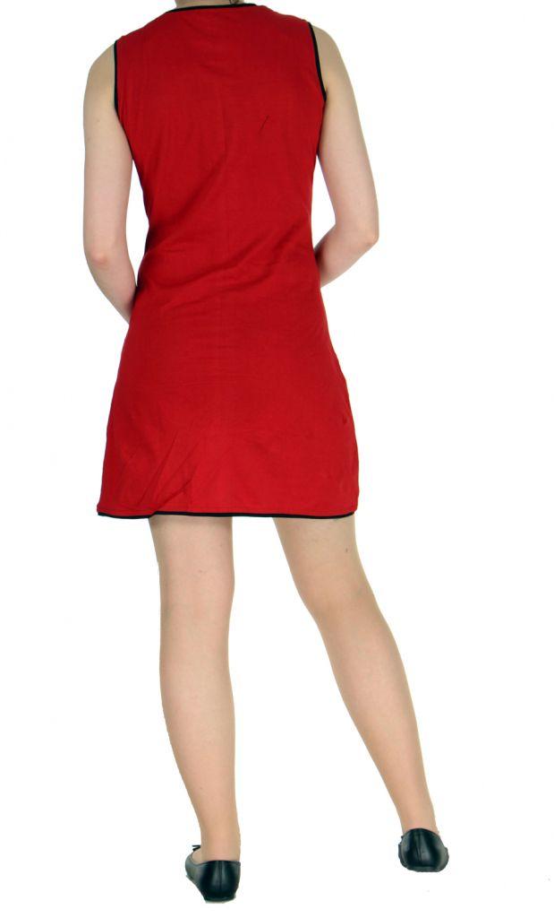 Robe rouge avec spirales Wanna 268542