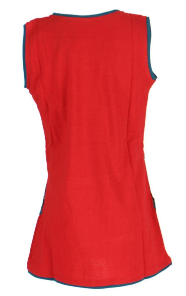 Robe rouge imprimée pour fille Néréa 268703