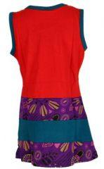 Robe rouge originale pour fillette Sara 268645