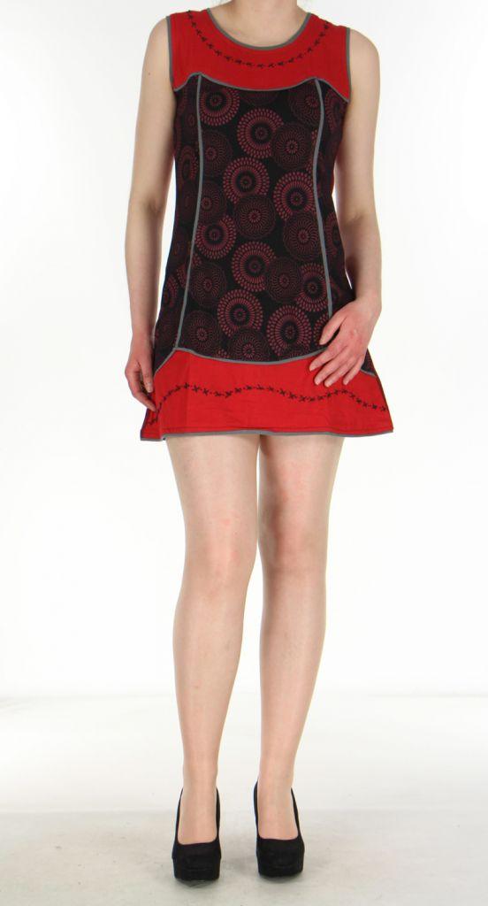 Robe rouge pour femme Ambre 269910