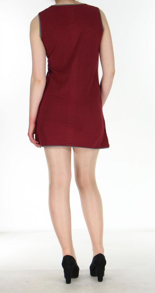Robe rouge pour femme Ambre 269911