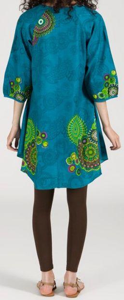 Robe/Tunique - manches 3/4 - ethnique et originale - Téodosia 271933