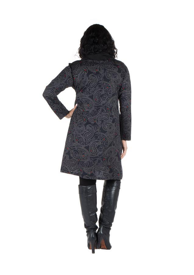 Robe tunique à col ample collection automne-hiver Heena 301412