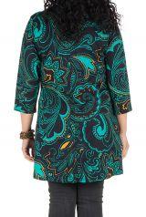 Robe tunique avec magnifique imprimées en coton Blunaya 301770