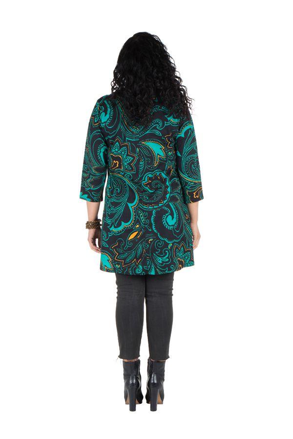 Robe tunique avec magnifique imprimées en coton Blunaya 301771