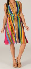 Robe Tunique d'été mi-longue Originale Figueira Multi 280371