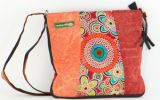 Sac � bandouli�re Macha Ethnique et Color� Astia Orange 277196