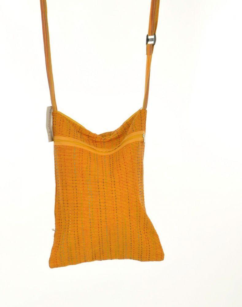 sac ethnique à bandoulière pixok jaune 254765