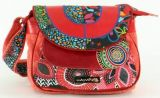Sac femme Macha color� tons rouge � bandouli�re Mishka 271456