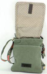 Sac Macha Mt coloré en coton et cuir à bandoulière Titan 1