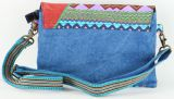 Sac-pochette Macha pour Femme Ethnique et Original Tasami Bleu 277258