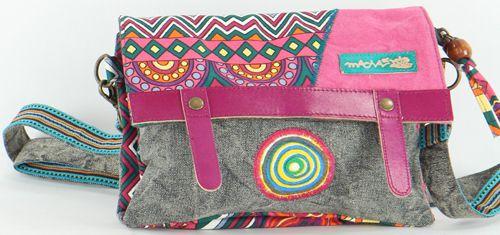 Sac-pochette Macha pour Femme Ethnique et Original Tasami Rose 277255