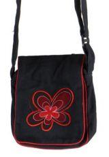 Sacoche � bandouli�re flyia noire et rouge 261426