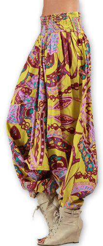 Sarouel  3en1 pour Femme Ethnique et Coloré Bonny Rose 276958