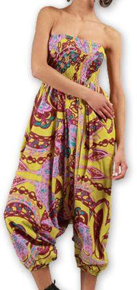 Sarouel  3en1 pour Femme Ethnique et Coloré Bonny Rose 276959