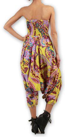Sarouel  3en1 pour Femme Ethnique et Coloré Bonny Rose 276961