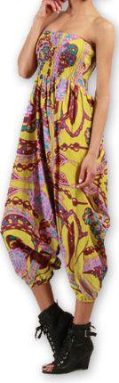 Sarouel  3en1 pour Femme Ethnique et Coloré Bonny Rose 276962