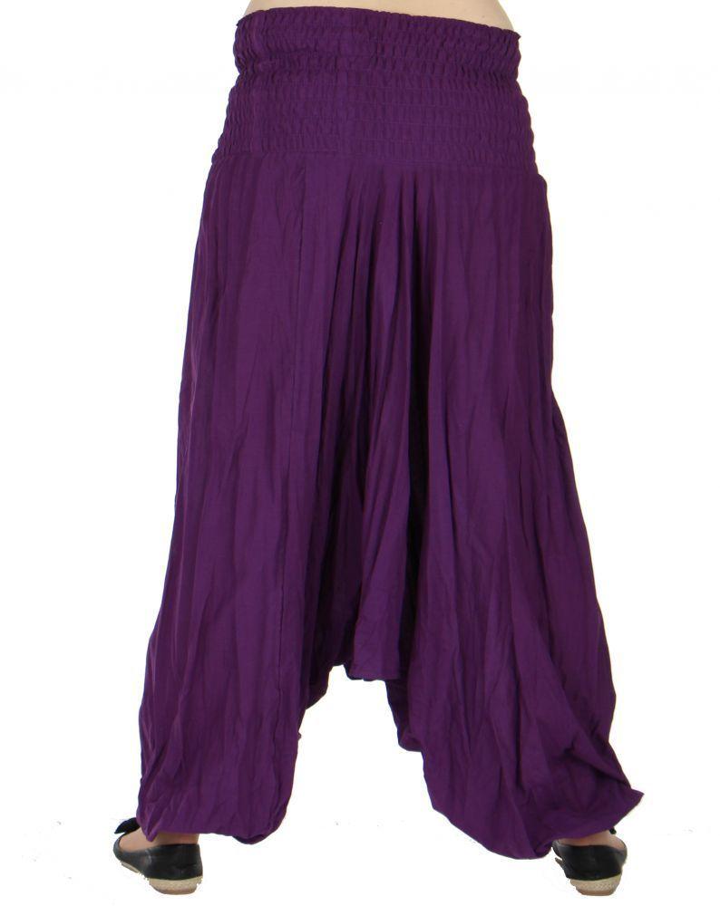 Sarouel  multifonction original 4 en 1 chichy uni violet 256802