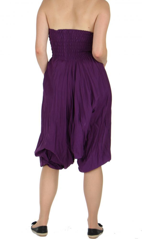 Sarouel  multifonction original 4 en 1 chichy uni violet 257002