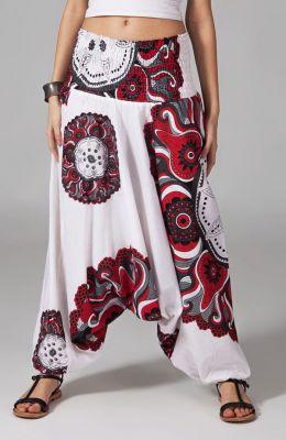 Sarouel blanc pour femme Nitya 292415