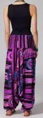 Sarouel convertible 3en1 violet Fiori 270159